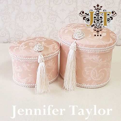 ジェニファーテイラー Jennifer Taylor オーバルBOX2P・Florence(PK)
