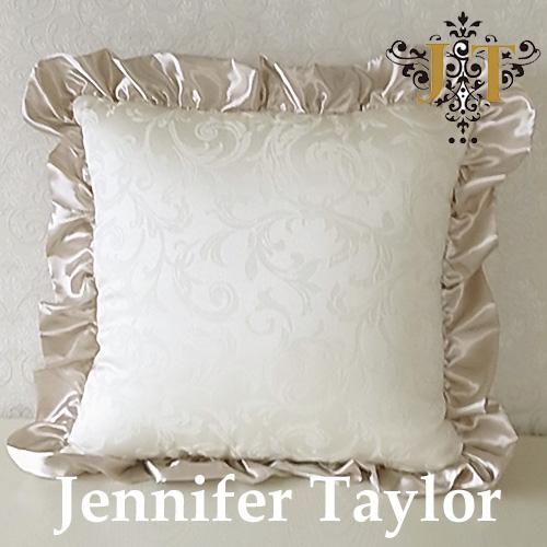【ポイント10倍 12月】ジェニファーテイラー Jennifer Taylor クッションフリル・Florence(WH)