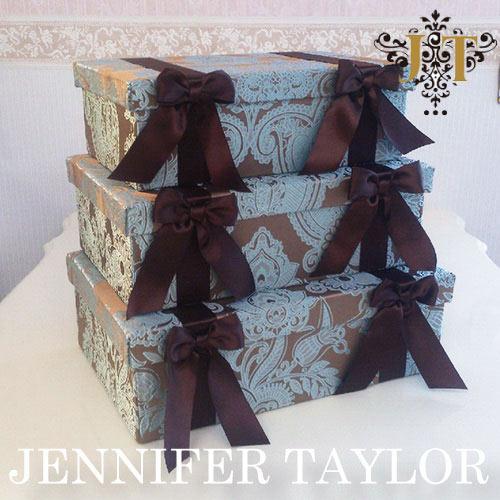 【送料無料】ジェニファーテイラー Jennifer Taylor BOX3Pセット・Hermosa-mint
