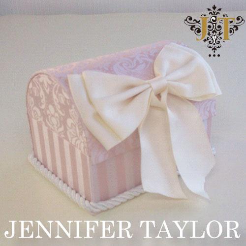 【12月限定 P10倍】ジェニファーテイラー Jennifer Taylor トランク型ボックス・Haruno・Ribbon