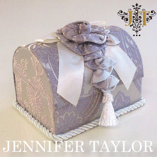 【ポイント10倍 8月】ジェニファーテイラー Jennifer Taylor トランク型ボックス・Hermosa-lavender