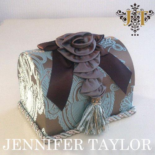 ジェニファーテイラー Jennifer Taylor トランク型ボックス・Hermosa-mint