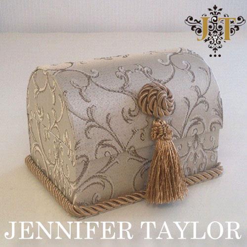 【ポイント10倍 8月】ジェニファーテイラー Jennifer Taylor トランク型ボックス・Poinsettia-BE