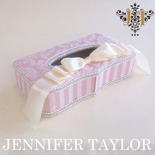 ジェニファーテイラー Jennifer Taylor ティッシュBOX・Haruno-Ribbon