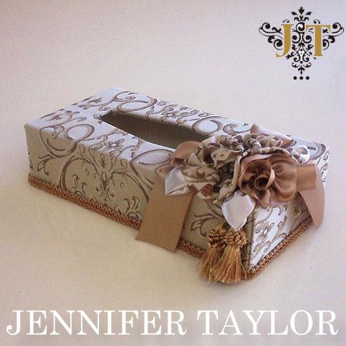 【ポイント10倍 8月】ジェニファーテイラー Jennifer Taylor ティッシュBOX・Poinsettia-BE
