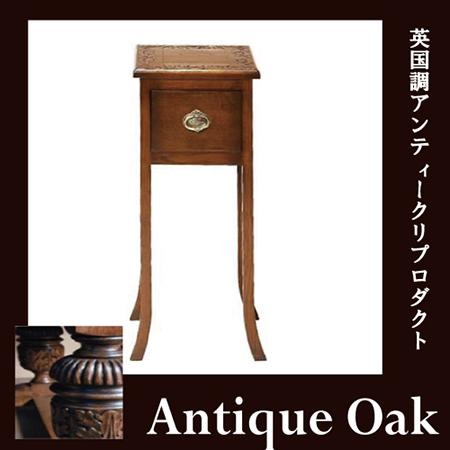 【送料無料】 Antique Oak Collection スリムテーブル