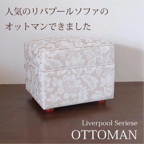【8月限定 P10倍】【送料無料】リバプール・オットマン
