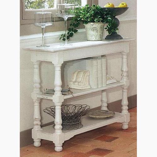 【送料無料】フランス白い家具ロマンティックホワイトファニチャー フランス カントリーコーナー 【Country Corner】 コンソール