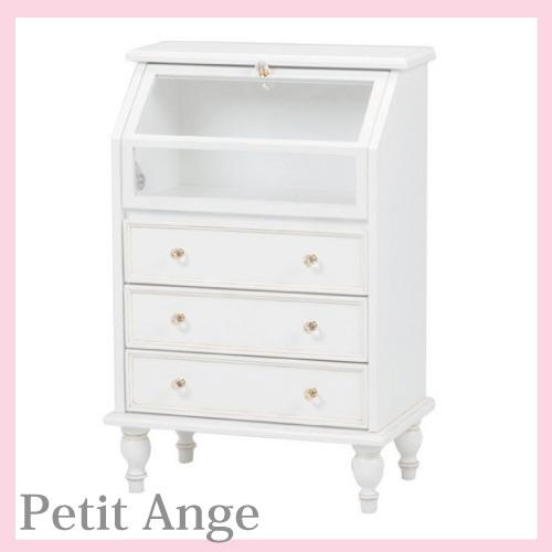 【2020.5月上旬入荷予定 予約販売承り中】【送料無料】 Petit Ange~プティ・アンジュ~ ガラスチェスト