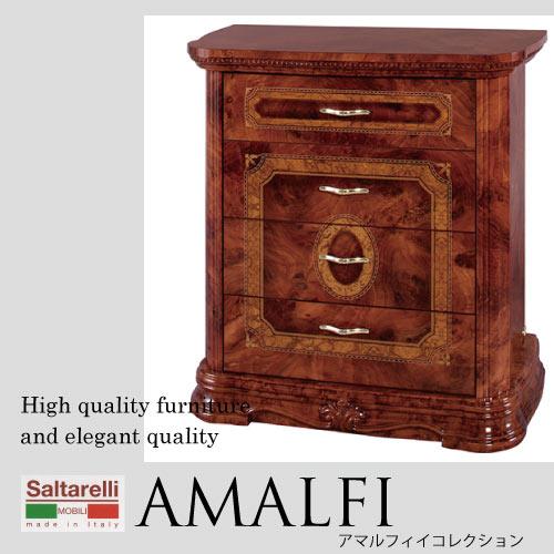 【P10倍 1/31 11:59まで】【送料無料】Saltarelli AMALFI~アマルフィ~ 4段チェスト