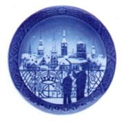 Royal Copenhagen Year Plate ロイヤルコペンハーゲン イヤープレート 1988年(昭和63年)