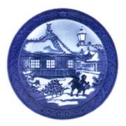 Royal Copenhagen Year Plate ロイヤルコペンハーゲン イヤープレート 2005年(平成17年)