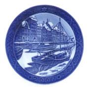 Royal Copenhagen Year Plate ロイヤルコペンハーゲン イヤープレート 2007年(平成19年)