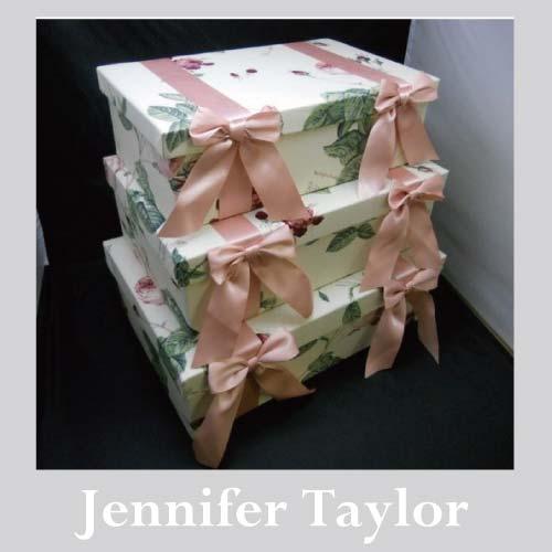 【送料無料】ジェニファーテイラー Jennifer Taylor BOX3Pセット・Redoute