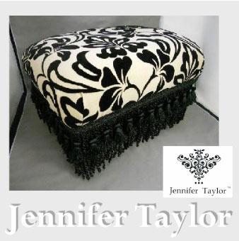 【P10倍 1/31 11:59まで】【送料無料】ジェニファーテイラー Jennifer Taylor フットスツール・Yorke