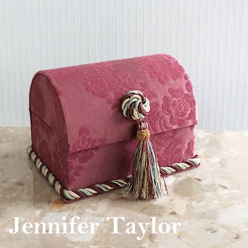 【送料無料】ジェニファーテイラー Jennifer Taylor トランクBOX・Lorraine-RE