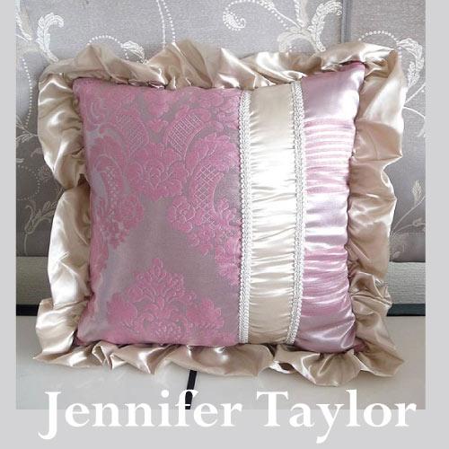 【送料無料】ジェニファーテイラー Jennifer Taylor クッションフリル・Lorraine-PK