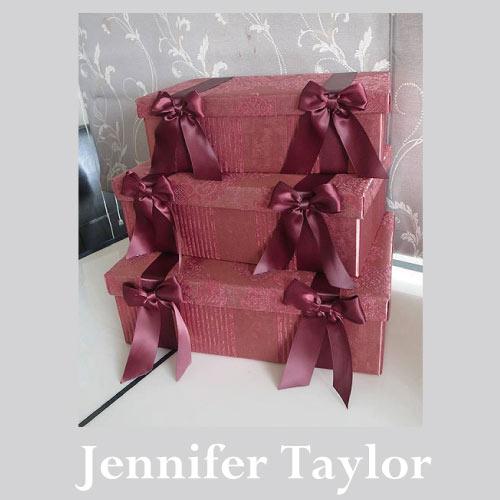 【P10倍 1/31 11:59まで】【送料無料】ジェニファーテイラー Jennifer Taylor BOX3Pセット・Lorraine-RE