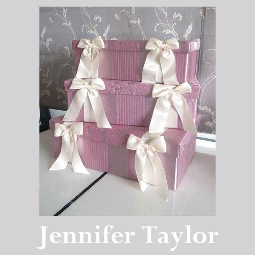 【P10倍 1/31 11:59まで】【送料無料】ジェニファーテイラー Jennifer Taylor BOX3Pセット・Lorraine-PK