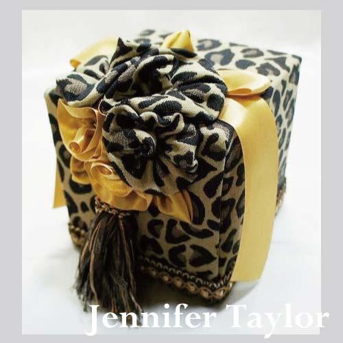 ジェニファーテイラー Jennifer Taylor トイレットペーパーボックス・Espresso