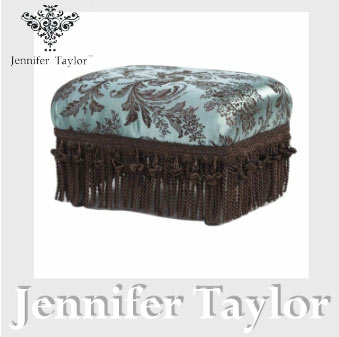 【8月限定 P10倍】ジェニファーテイラー Jennifer Taylor フットスツール・Carlisle