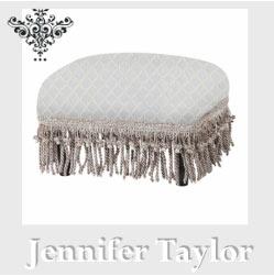 【P10倍 1/31 11:59まで】【送料無料】ジェニファーテイラー Jennifer Taylor フットスツール・Swanson