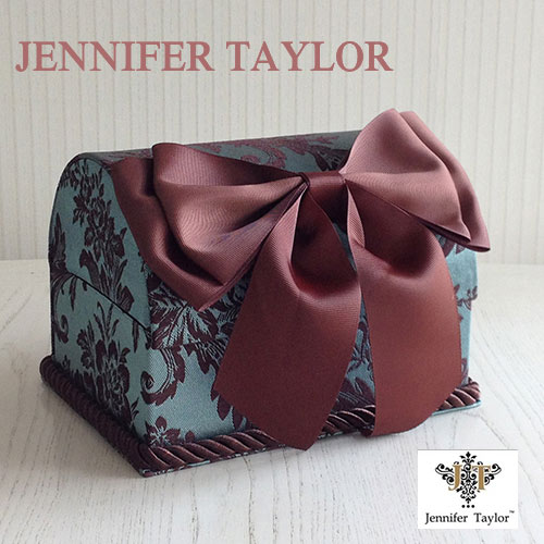 【8月限定 P10倍】ジェニファーテイラー Jennifer Taylor トランクBOX-Carlisle・Ribbon