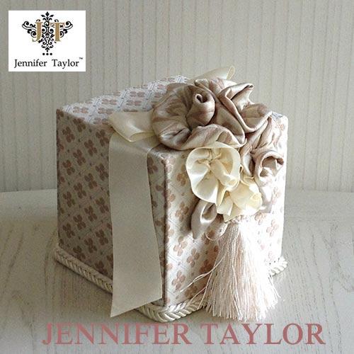 ジェニファーテイラー Jennifer Taylor トイレットペーパーボックス・Lumina