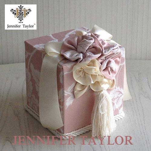 【P10倍 1/31 11:59まで】ジェニファーテイラー Jennifer Taylor トイレットペーパーボックスHarmonia