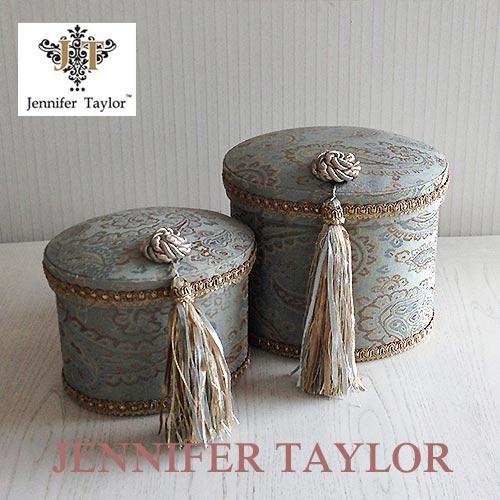 ジェニファーテイラー Jennifer Taylor オーバルBOX2P・SAVANNAH