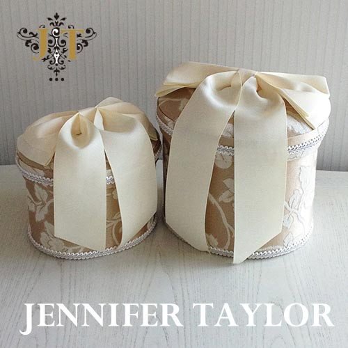 ジェニファーテイラー Jennifer Taylor オーバルBOX2P Heirloom-Ribbon