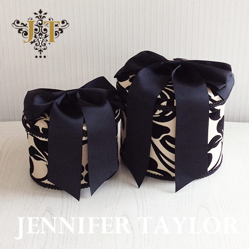 ジェニファーテイラー Jennifer Taylor オーバルBOX2P Yorke-Ribbon