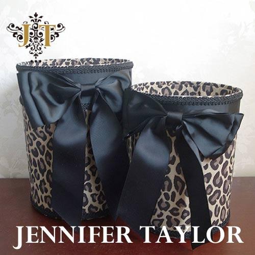 ジェニファーテイラー Jennifer Taylor ダストBOX2Pセット Espresso・Ribbon