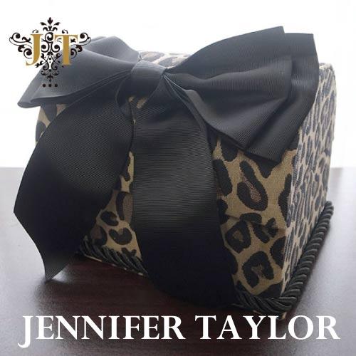 【P10倍】ジェニファーテイラー Jennifer Taylor トランクBOX-Espresso ・Ribon