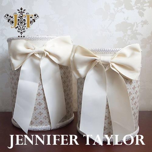【送料無料】ジェニファーテイラー Jennifer Taylor ダストBOX2Pセット Lumina・Ribbon