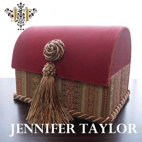 【P10倍 1/31 11:59まで】ジェニファーテイラー Jennifer Taylor トランクBOX-Kedleston・PK