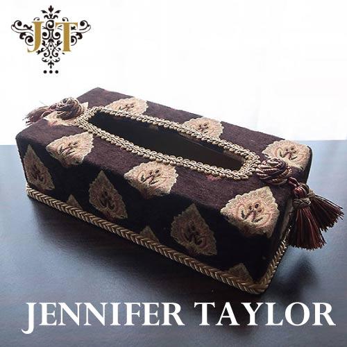 【P10倍 1/31 11:59まで】ジェニファーテイラー Jennifer Taylor ティッシュBOX・Ritz