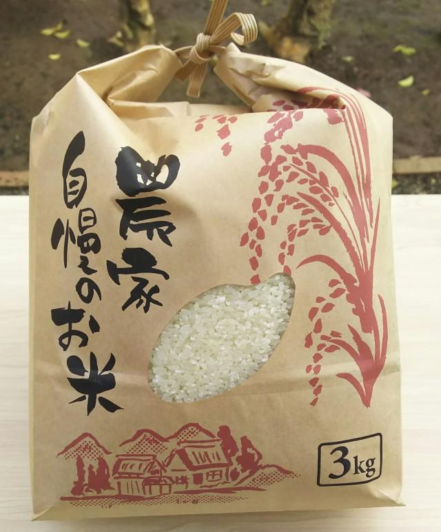 【自然栽培米】オーガニック 熊本県産 無肥料無農薬  福間さんの冬期湛水自然栽培米・精米 3kg