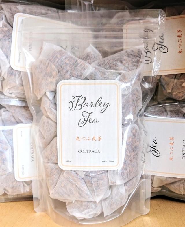 おすすめ【無農薬・国産・自家採種】 coltrada 岡山県産 丸つぶ麦茶 200g(10g×20p)
