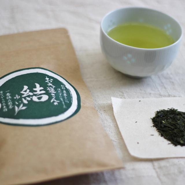 """新茶【自然栽培】 熊本県産 桜野園 緑茶""""結"""" 80g"""