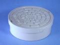 アロン塩ビ製蓋 おすい文字入 50(内径接続)