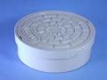 アロン塩ビ製蓋 おすい文字入 75(内径接続)