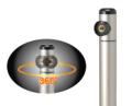 水栓柱 S-10BSR-1313080 (吐水口回転式) 0.8m