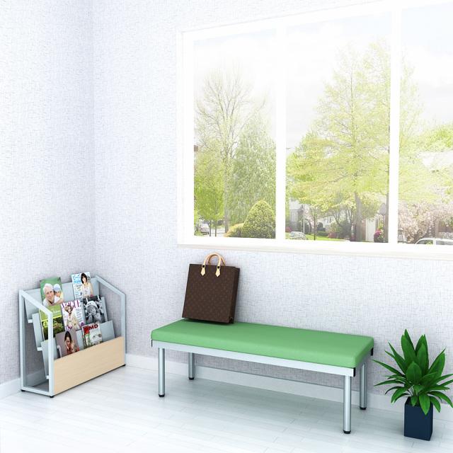bcf-1245-gr_1.jpg ベンチ 平ベンチ 120cm グリーン セット写真 1000×1000px set