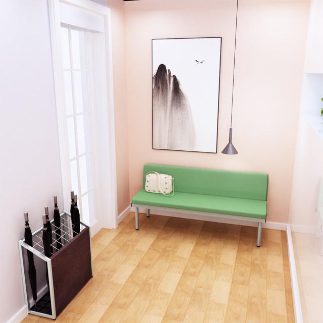 bcl-1550-gr_2.jpg ベンチ 背付きベンチ 背付ベンチ 150cm グリーン セット写真 1000×1000px set