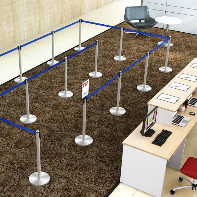 bpf-890-bl_1.jpg ベルトパーテーション セット写真 1000×1000px ブルー スタンダード型
