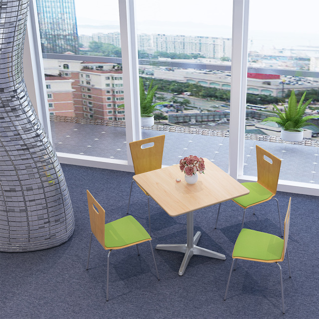 ctxa-75s-na_1.jpg カフェテーブル 75cm 角 ナチュラル木目 ナチュラル アルミX脚 セット写真 1000×1000px