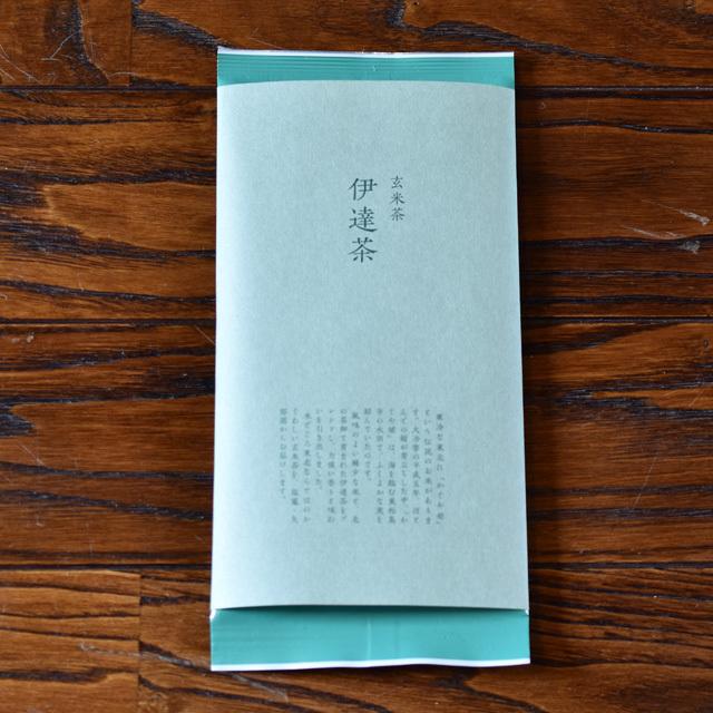 伊達茶 パッケージ