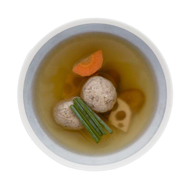 さんま出汁のつみれスープ