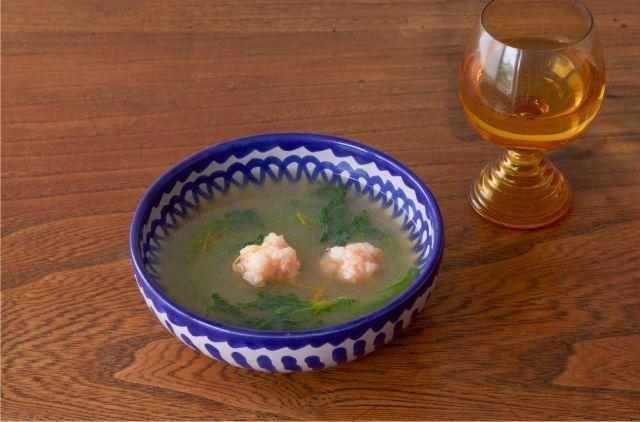 海老団子とかぶのすり流しスープ イメージ